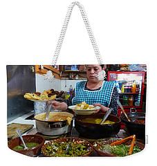 Food Court In Paracho Weekender Tote Bag
