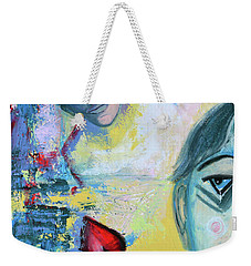Foolish Love Weekender Tote Bag by Donna Blackhall