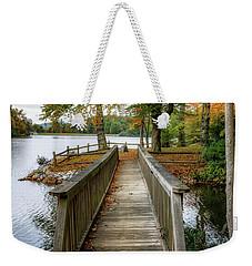 Foot Bridge At Linville Land Harbor Weekender Tote Bag