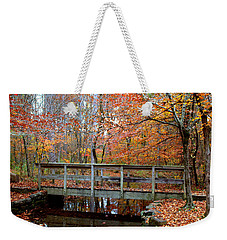Foot Bridge Weekender Tote Bag