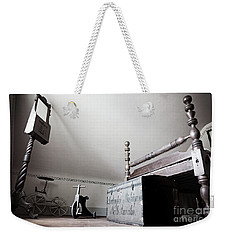 Foot Of The Bed Weekender Tote Bag