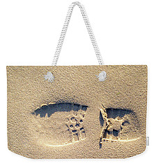Foot Print Weekender Tote Bag