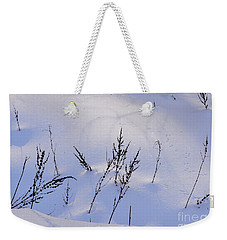 Foot Prints In The Snow Weekender Tote Bag