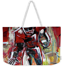 Football Run Weekender Tote Bag