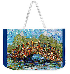 Footbridge Hilo Hawaii Weekender Tote Bag