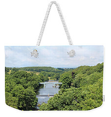 Footbridge Over The River Tees Weekender Tote Bag