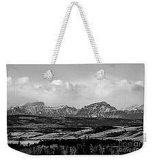 Foothills Alberta Weekender Tote Bag by Elaine Hunter