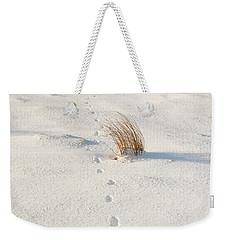 Footprints In The Snow II Weekender Tote Bag
