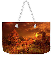 For A Time I Rest In The Grace Of The World And Am Free Weekender Tote Bag