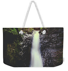 Weekender Tote Bag featuring the photograph For All The Things I've Done by Laurie Search