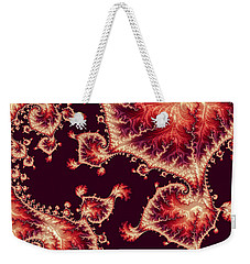 Weekender Tote Bag featuring the digital art For Love Of Autumn by Susan Maxwell Schmidt