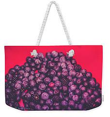 For The Love Of Berries Weekender Tote Bag by Stefanie Silva
