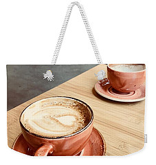 For The Love Of Coffee Weekender Tote Bag