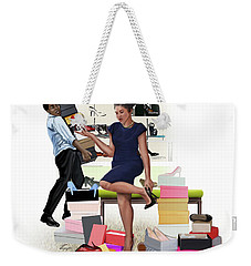 For The Love Of Shoes Weekender Tote Bag