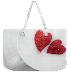 For Valentine's Day Weekender Tote Bag by William Lee
