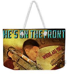 For Victory Weekender Tote Bag