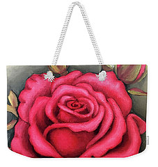 For You, The Red Rose Weekender Tote Bag