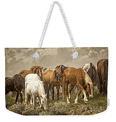 Foraging Weekender Tote Bag by Joan Davis