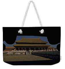 Weekender Tote Bag featuring the photograph Forbidden City, Beijing by Travel Pics