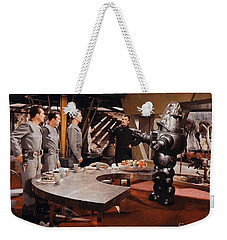 Forbidden Planet Amazing Poster Inside With Scientist Weekender Tote Bag