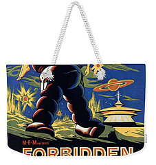 Forbidden Planet Amazing Poster Weekender Tote Bag