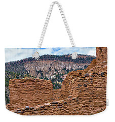 Weekender Tote Bag featuring the photograph Forbidding Cliffs by Alan Toepfer