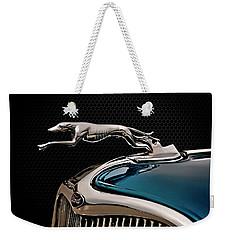 Ford Blue Dog Weekender Tote Bag by Douglas Pittman