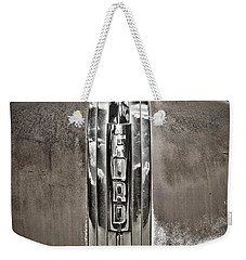 Ford Chrome Grille Weekender Tote Bag by Marilyn Hunt