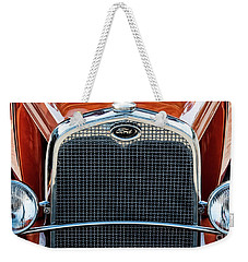 Weekender Tote Bag featuring the photograph Ford Coupe by Brad Allen Fine Art