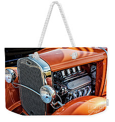 Weekender Tote Bag featuring the photograph Ford Coupe II by Brad Allen Fine Art