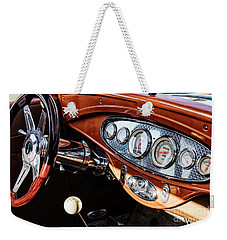 Weekender Tote Bag featuring the photograph Ford Coupe IIi by Brad Allen Fine Art