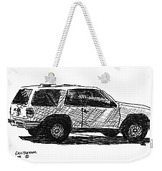 Ford Explorer Weekender Tote Bag by Eric Tressler