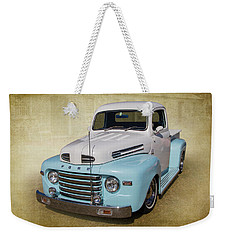 Weekender Tote Bag featuring the photograph Ford F1 by Keith Hawley