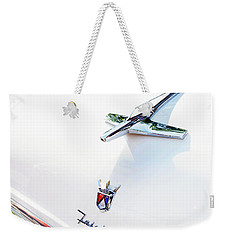Weekender Tote Bag featuring the photograph Ford Fairlane Classic by Theresa Tahara