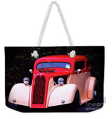Weekender Tote Bag featuring the photograph 1934 Ford Coupe Hot Rod by Baggieoldboy
