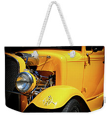 Weekender Tote Bag featuring the photograph Ford Hot-rod by Jeremy Lavender Photography