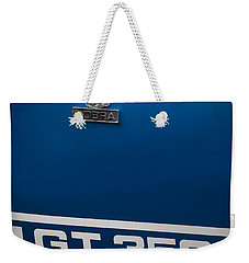 Ford Mustang G.t. 350 Cobra Weekender Tote Bag