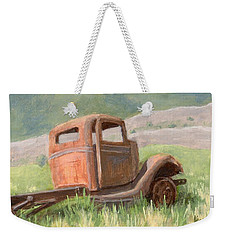 Ford On The Range Weekender Tote Bag