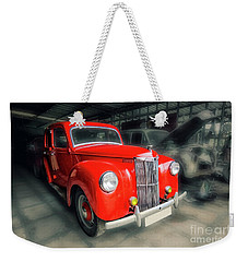 Weekender Tote Bag featuring the photograph Ford Prefect by Charuhas Images