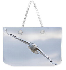 Forecast Calls For Snowy Weekender Tote Bag