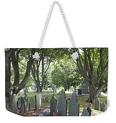 Forefathers' Cemetery Weekender Tote Bag