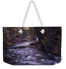 Forrest Bridge Weekender Tote Bag by Chris McKenna