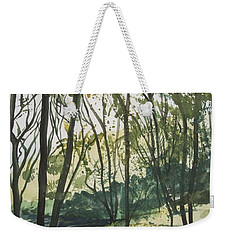 Forest By The Lake Weekender Tote Bag