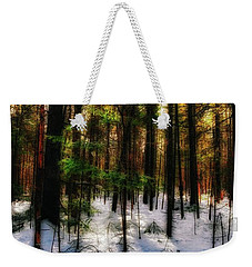 Forest Dawn Weekender Tote Bag