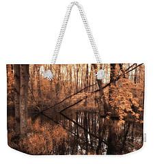 Forest Directional Weekender Tote Bag