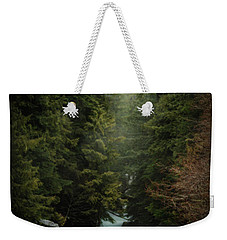 Weekender Tote Bag featuring the photograph Forest Enchantment by Cat Connor