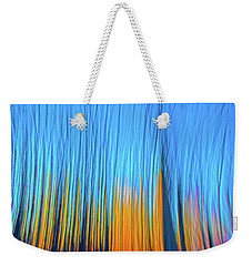 Weekender Tote Bag featuring the photograph Forest Fire by Tony Beck