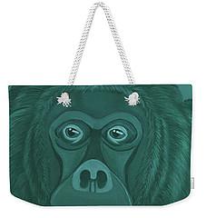 Forest Green Orangutan Weekender Tote Bag