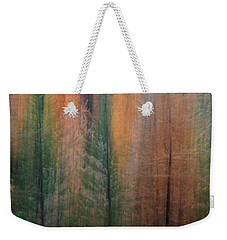 Forest Illusion- Autumn Born Weekender Tote Bag