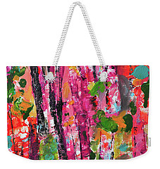 Forest In Sunset Weekender Tote Bag